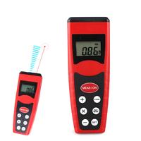 Red CP-3000 Portable Infrared Ultrasonic laser Distance Measurer Meter Tester