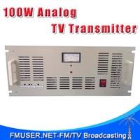 FMUSER FM-100T 100W Analog TV transmitter UHF/VHF PAL/NTSC