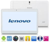 Lenovo ThinkPad 10.1 inch Tablets HD Screen Built-in 3G GPS Bluetooth Quad Core1.2GHz Support Dual SIM Call Phone Dual Camera