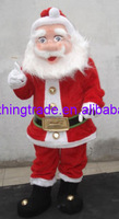 Hot selling 2014 Adult lovely NEW SANTA Mascot Costume fancy dress cartoon party costume