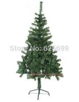 free shopping Christmas decorations 120cm green PVC encryption Christmas tree 230 branches