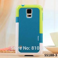 10pcs, Walnutt Anti-Slip Hybrid TPU Case for Samsung Galaxy S5 SV i9600 Gel Cover, FREE SHIP