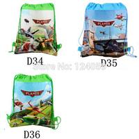 1PIECE  Plane Kids Drawstring Bags,children cartoon school shoulder bag,chidren printing backpacks,mochila kid,shoulder bag