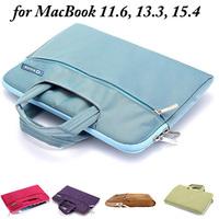 10pcs/lot Briefcase Bag Case for MacBook 11.6, 13.3, 15.4 inches, 4 Colors, Mix Colors acceptable -- (LJ-MB-03)