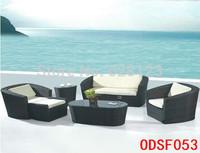 ODSF053 The cafe hotel furniture The courtyard villas sofa Leisure imitation rattan sofa