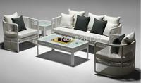 ODSF050 original design  Single person sofa music orchestra outdoor balcony garden rattan sofa Manual weaving