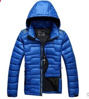Suitable for -20C Warm Man 90% Duck Down Jackets Men Outdoors Parkas 2014 Quilted Coat Business Casual Thicker Hooded Padded