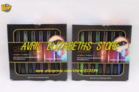 120SET/LOT Brand M.N Kajal Makeup eyeliner 6 Colors Crayon Waterproof Eyeliner Eyeshadow Pen Set 0.8gx6pcs Free Shipping A / B