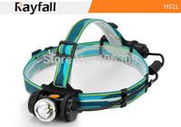 Rayfall HS1L Cree XM-L U2 4-Mode 577 Lumens Led Headlamp Bike Light  (1 x 18650 / 2xcr123)