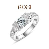 2014 Rings For Women Rings Roxi Christmas Gift Classic Genuine Austrian Crystals Fashion Kiss Fish Ring 100% Man-made Big Off