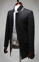 Free Shipping 2014 Hot Men's Jackets  Dust Coat Male special design Coat Size:M-2XL 95