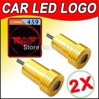 2pc 6th Gen Cree LED Projector Badge Ghost Shadow Light Vehicle/Auto/Car Door LED Logo Light Dark Knight for Batman movie