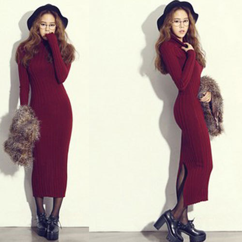 Sweater Dresses For The Fall 2014 Long Sweater Dresses Fall
