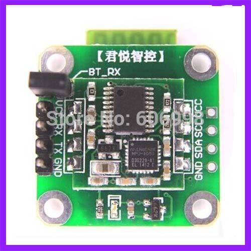 2pcs lot Ultra High Precision Six Axis Serial Port Bluetooth Wireless Attitude measurement Sensor MPU6050