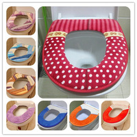 2pcs/lot  thickening waterproof toilet mats toilet seats cushion cover overcoat toilet case HD1010