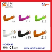 Multicolor Anti-Slip Thumb Hole Stretch UV Protection Arm Sleeve Set cycling protector
