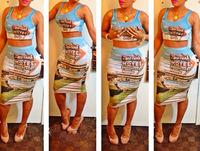New 2014 Summer Women Sexy Bandage Bodycon Dress 2 Piece Crazy Evening Party Dresses Colorful Motel Print Clubwear Dress M7-41