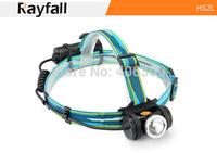 Rayfall HS2L 1* CREE XM-L T6 Max 550 Lumens 4-Mode LED Headlamp Bike headlight (1*26650/3*AA)
