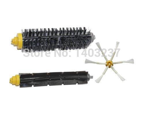 Bristle Brush Flexible Beater Brush 6-Armed Side Brush Mini Kit for iRobot Roomba 600 700 Series 620 630 650 660 760 770 780(China (Mainland))