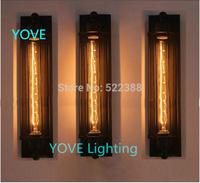 Edison Wall Lamp Cafe Bar Sconce Creative Industry Arandela Lamps Bedside Wall Lights Vintage Loft American Wall Lamps Bedroom