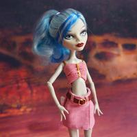 Fashion Pink Dress Set  For Monster High doll