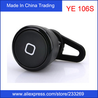 YE-106S In Ear Bluetooth Earphone New Upgraded Version Stereo Mini Music Phone Calls  support music and call For Smartphone
