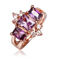 Free shipping 2014  Weddings King Crown Ring for Women Fashion Jewelry Luxury Shine Crystal Big Stone Ring