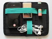 3 Color Free Choice Grid-it High Quality Storage Board/Wonderful Mini Organizer Soft Neoprene Sleeve Case Pouch Cheap Prices