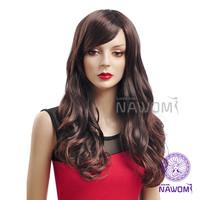 New 2014 Dark Brown100% Kanekalon Hair Synthetic Wig,Nawomi Wigs Supernova Sale Free Shipping