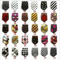 New children tie fashion trendy students tie baby cartoon tie