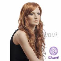 New 2013 100% Kanekalon Light  Brown Synthetic Wig,Nawomi Wigs Supernova Sale Free Shipping