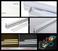 100Pcs/lot hot selling 2ft T5 100Pcs/lot 600m AC85-265V SMD 2835 Epista 50/60HZ integration bracket led tube light T504