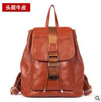 90%OFF Sale Women's Fashion Backpack Genuine Leather Backpack Girl Rucksack Satchel School Bag For Women