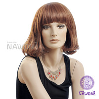 Wholesale New 2014 Light Brown Curly Wig,Nawomi 100% Kanekalon Wigs For Women Supernova Sale