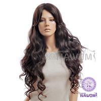 Wholesale New 2014 Dark Brown Wig Long,Nawomi 100% Kanekalon Wigs For Women Supernova Sale