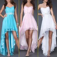 SD013 White Chiffon vestido de formatura short graduation dresses 2014 free shipping Crystal Sexy Short Homecoming Dresses 2014