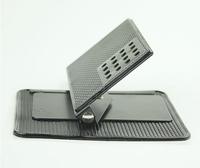 Free shipping Multi-functional car Anti Slip pad 360  degree  Shelf Antislip Mat For GPS/  IPhone/ Cell Phone Holder
