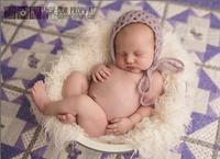 Milk White Long Sheep Basket Stuffer Blanket Faux Flokati Fur Newborn Photo Props Woolen Blanket Newborn Photography Props