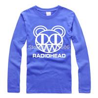 Radiohead Radiohead shake off new autumn trend Rock T shirt big yards long sleeve t-shirt men women