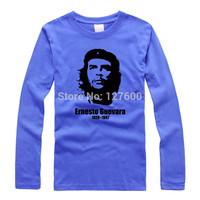 Shake off Guevara Che Guevara cotton original theatrical rock T shirt personalized long-sleeved t-shirt men and women