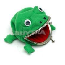 naruto frosch brieftasche naruto geldbörse hellgrün niedliche handtasche women casual bequem geldbörse für mädchen(China (Mainland))