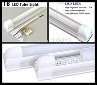 100Pcs/lot 60cm 10W integrated T8 Tubes 48leds warm white/white Led Tube Light T507