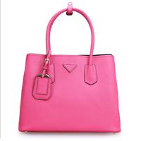 free shipping The new summer 2014 Cross grain leather handbag shoulder aslant killer with the bag