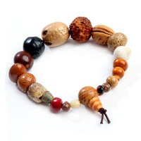 Free Shipping! Tibetan Jewelery Religion  Natural Bodhi Seed Beads Stretch Bracelets Men / Women Charm High-end Gift