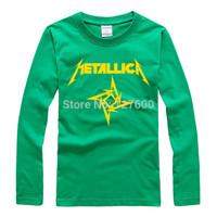 Shake off the metal band Metallica 2014 Rock Music Festival personalized T-shirt women long sleeve t-shirt men