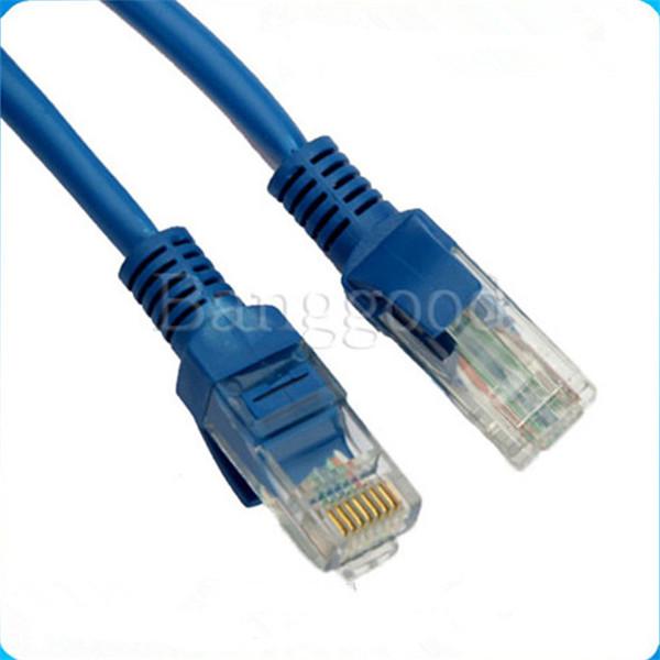 2pcs 3 FT foot RJ45 CAT5 5e CAT5e Ethernet Network Lan Patch Cable Cord