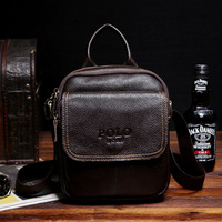 2014 fashionable one shoulder bags handbags men's messenger genuine leather man high quality brand crossbody satchel