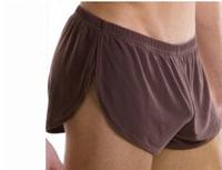 2pcs Arrow pants Shorts men 2014 brand  N2N underwear low-waist breathable mesh Male house  loose sleeping boxers