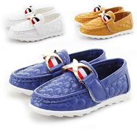2014 Autumn Children's Network explosion models wholesale 6 pairs of shoes 26-30 soft bottom shoes children shoes Peas