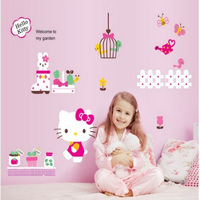 155cm *95cm  cartoon wall sticker decal wall dacals for rooms girls room accessories  for decoration  princess room sticker